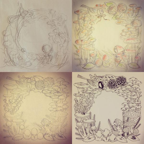 サイトに掲載されている制作中の作品:田島直人さん