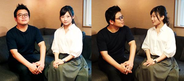 飯塚健さん・伊藤沙莉さんプロフィール写真